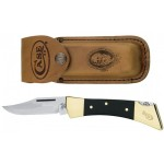 Case Hammerhead Lockback W/leather Sheath